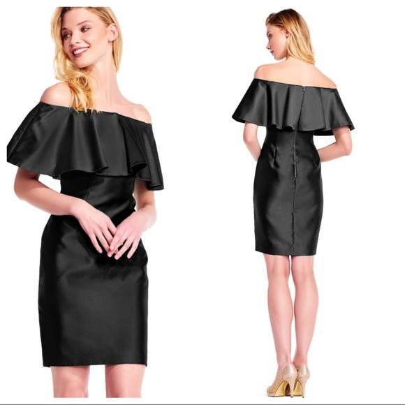 6c27b6cf0821 NWT Adrianna Papell Off the shoulder sheath dress